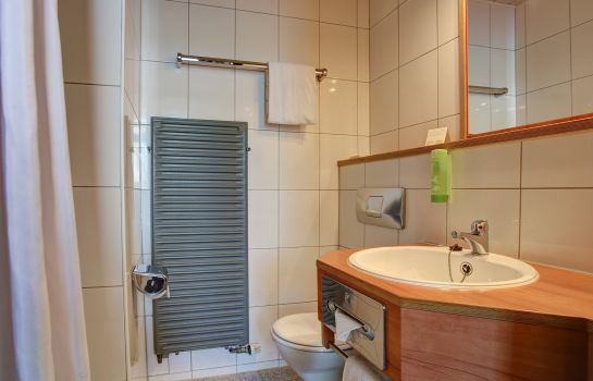 Bagno in camera Centro Hotel Blankenburg by INA