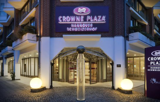 Exterior view Crowne Plaza HANNOVER