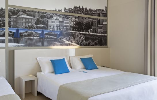 Dreibettzimmer B&B Hotel Firenze City Center