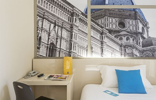 Einzelzimmer Standard B&B Hotel Firenze City Center