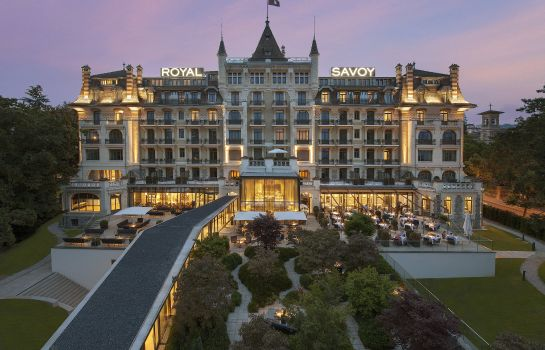 Exterior view Royal Savoy Hotel & SPA Lausanne