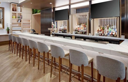 Hotel bar Hilton Grand Vacations Chicago DowntownMagnificent Mile