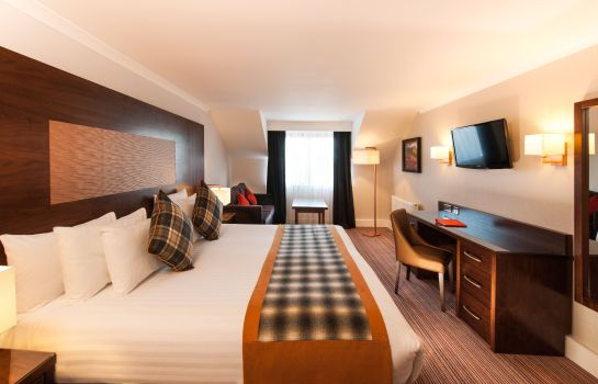 Chambre double (confort) Leonardo Hotel Edinburgh Murrayfield