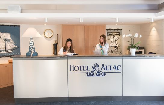 Hotelhalle Aulac