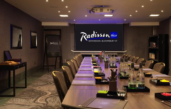 Meeting room Radisson Blu Edwardian Bloomsbury Street Hotel
