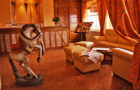 Hotelhalle Best Western Le Cheval Blanc