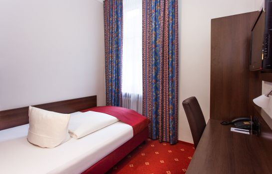 Single room (standard) Centro Hotel National Frankfurt City
