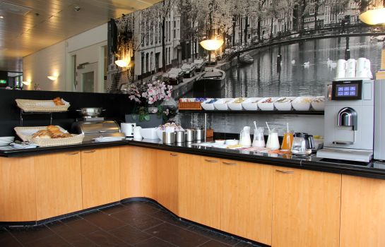 Breakfast buffet Bastion Hotel Amsterdam Noord