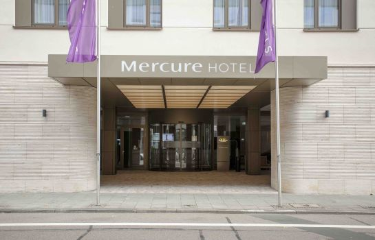 Exterior view Mercure Hotel Wiesbaden City