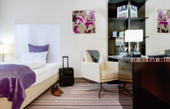 Single room (standard) Mercure Hotel Wiesbaden City