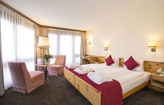 Chambre double (standard) Central Sporthotel Swiss Quality