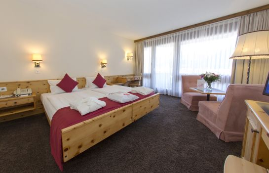 Chambre double (confort) Central Sporthotel Swiss Quality