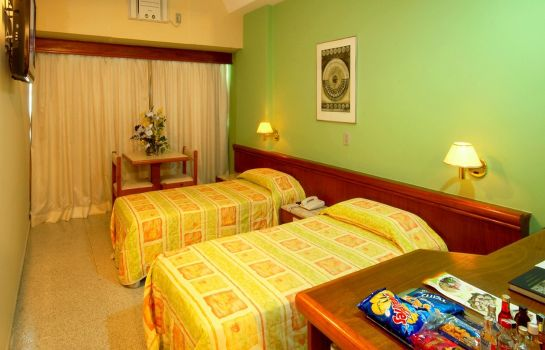 Double room (standard) Bandeirantes Hotel