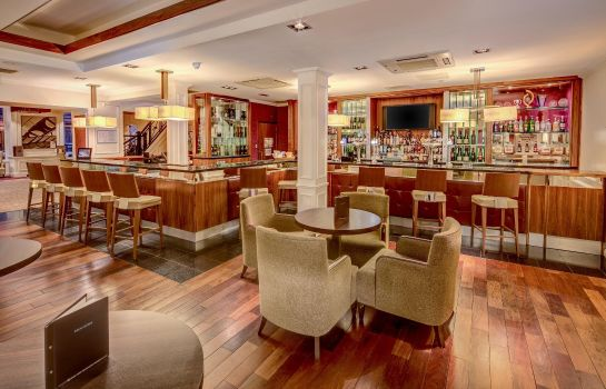 Hotel bar Hilton Edinburgh Grosvenor
