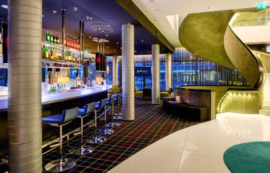 Hotel bar RADISSON BLU HAMBURG