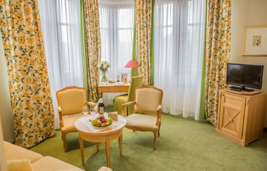 Junior suite Central-Hotel Kaiserhof