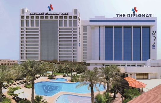 Exterior view DIPLOMAT RADISSON BLU HOTEL RESIDENCE & SPA