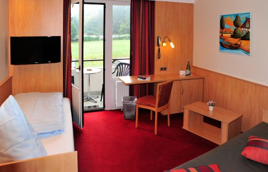Chambre individuelle (standard) Land-gut-Hotel Strand Cafe