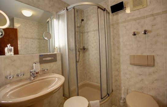Bagno in camera Windenreuter Hof