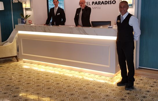 Reception BW Signature Collection Hotel Paradiso