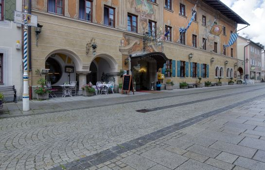 Exterior view Atlas Grand Hotel Partenkirchen