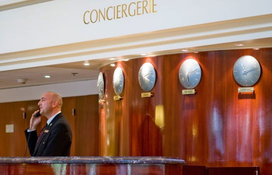 Hotelhalle Paris Marriott Rive Gauche Hotel & Conference Center