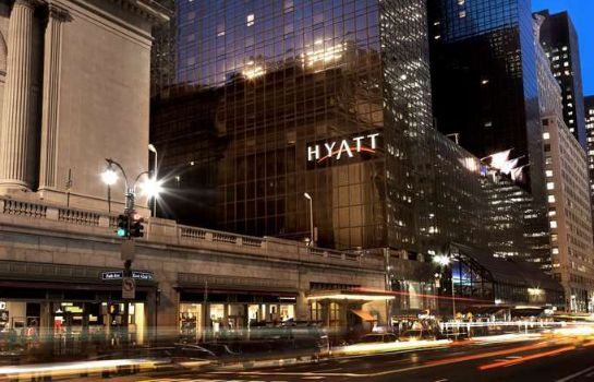 Buitenaanzicht Grand Hyatt New York