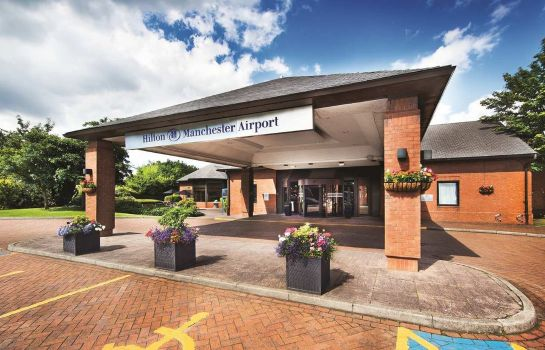 Exterior view Hilton Manchester Airport