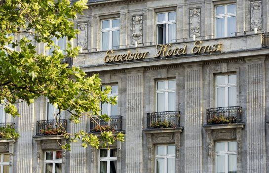 Vue extérieure Excelsior Hotel Ernst Leading Hotels of the World