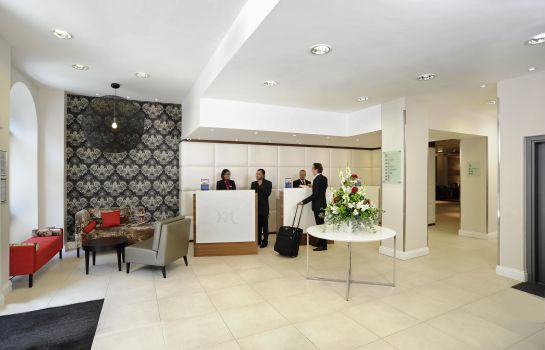 Reception Mercure London Bloomsbury