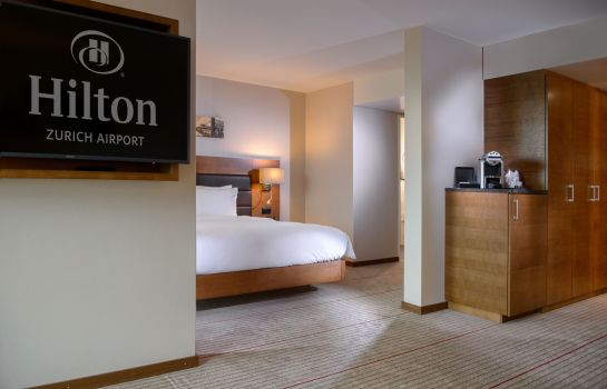 Junior Suite Hilton Zurich Airport