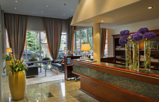 Reception Kompas Hotel Bled