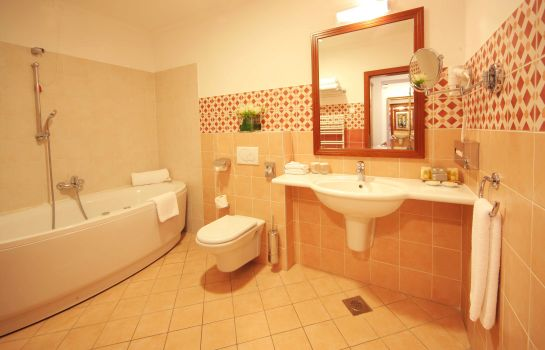 Bagno in camera Best Western Premier Hotel Lovec