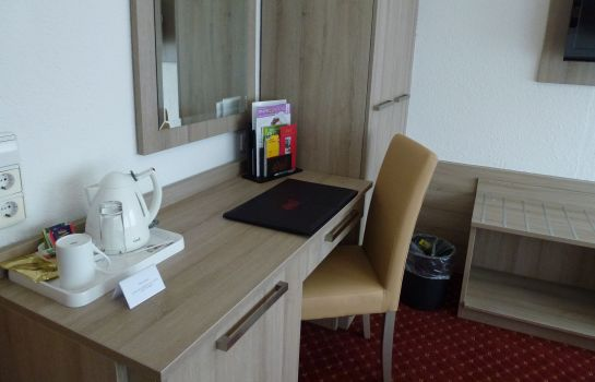 Single room (standard) Filder Post Airporthotel