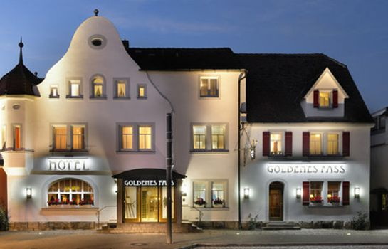 Exterior view Goldenes Fass TOP-Hotel