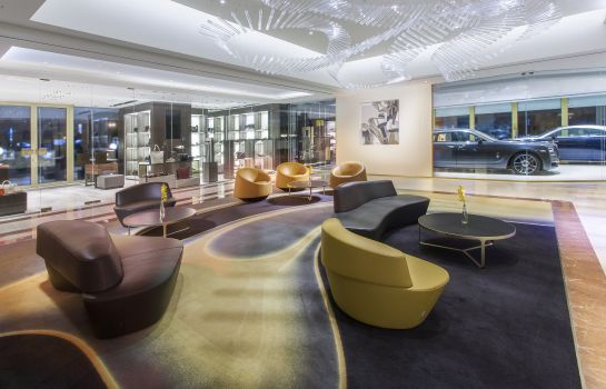 Hol hotelowy InterContinental Hotels PRAGUE