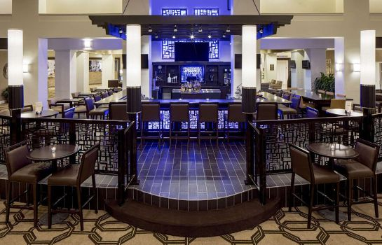 Hotel bar Hilton Houston Galleria Area