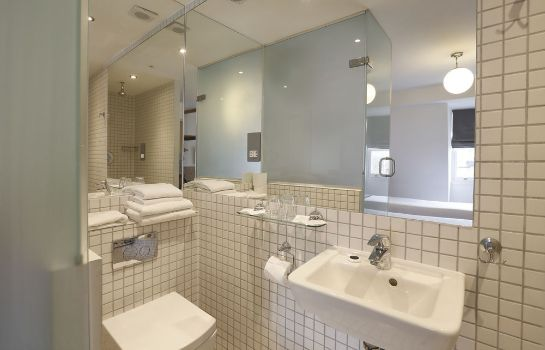 Bagno in camera Prince William Hotel