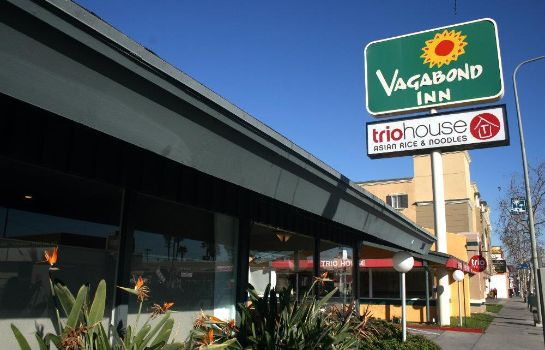 Vista exterior VAGABOND INN LOS ANGELES AT US