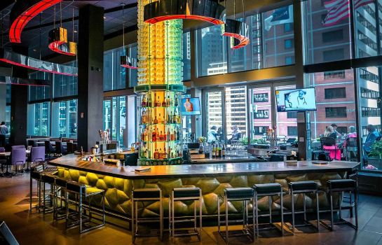 Hotel bar Novotel New York Times Square