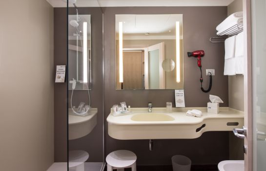 Badezimmer Best Western Plus City Hotel