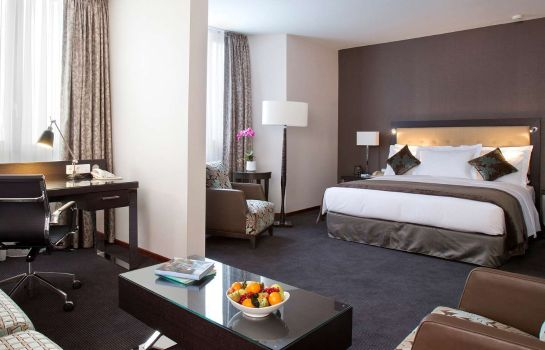 Zimmer DoubleTree by Hilton Luxembourg