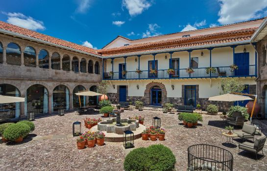 Exterior view Palacio del Inka a Luxury Collection Hotel Cusco