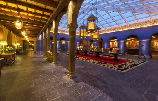 Reception Palacio del Inka a Luxury Collection Hotel Cusco