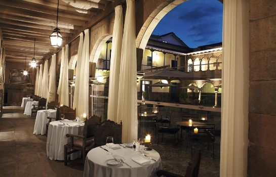 Restaurant Palacio del Inka a Luxury Collection Hotel Cusco