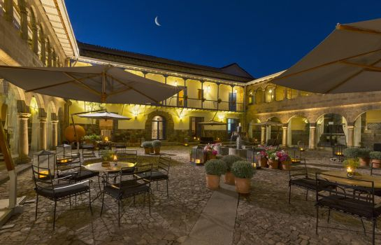 Terrace Palacio del Inka a Luxury Collection Hotel Cusco