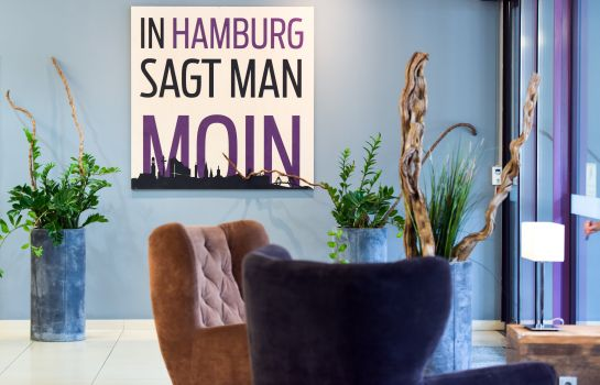 Hotelhalle Mercure Hotel Hamburg City