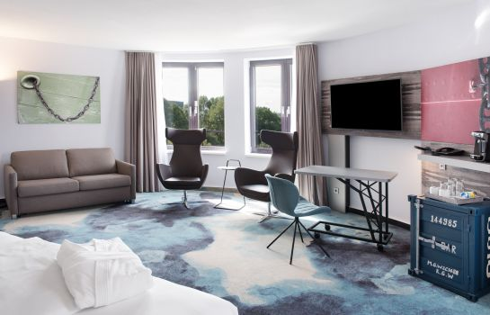 Junior Suite Mercure Hotel Hamburg City