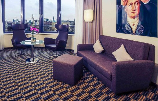 Zimmer Mercure Hotel Hamburg City