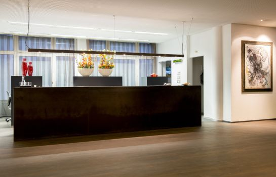 Reception Park Hotel Winterthur Swiss Quality